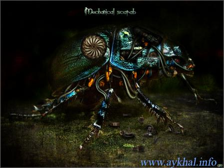 Mechanical scarab