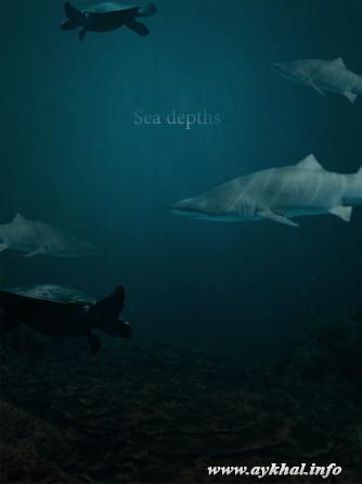 Sea depths